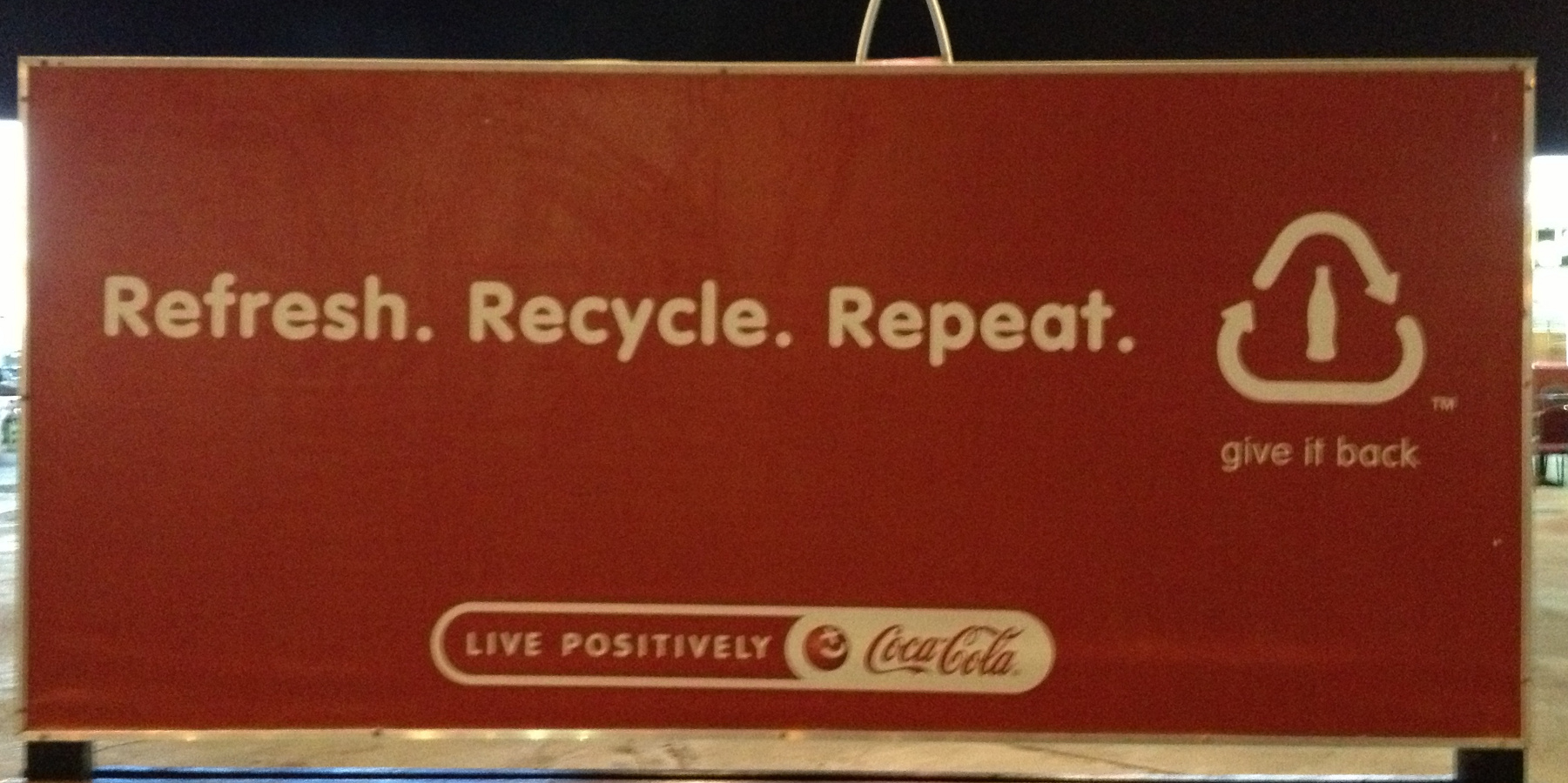 Refresh. Recycle. Repeat.