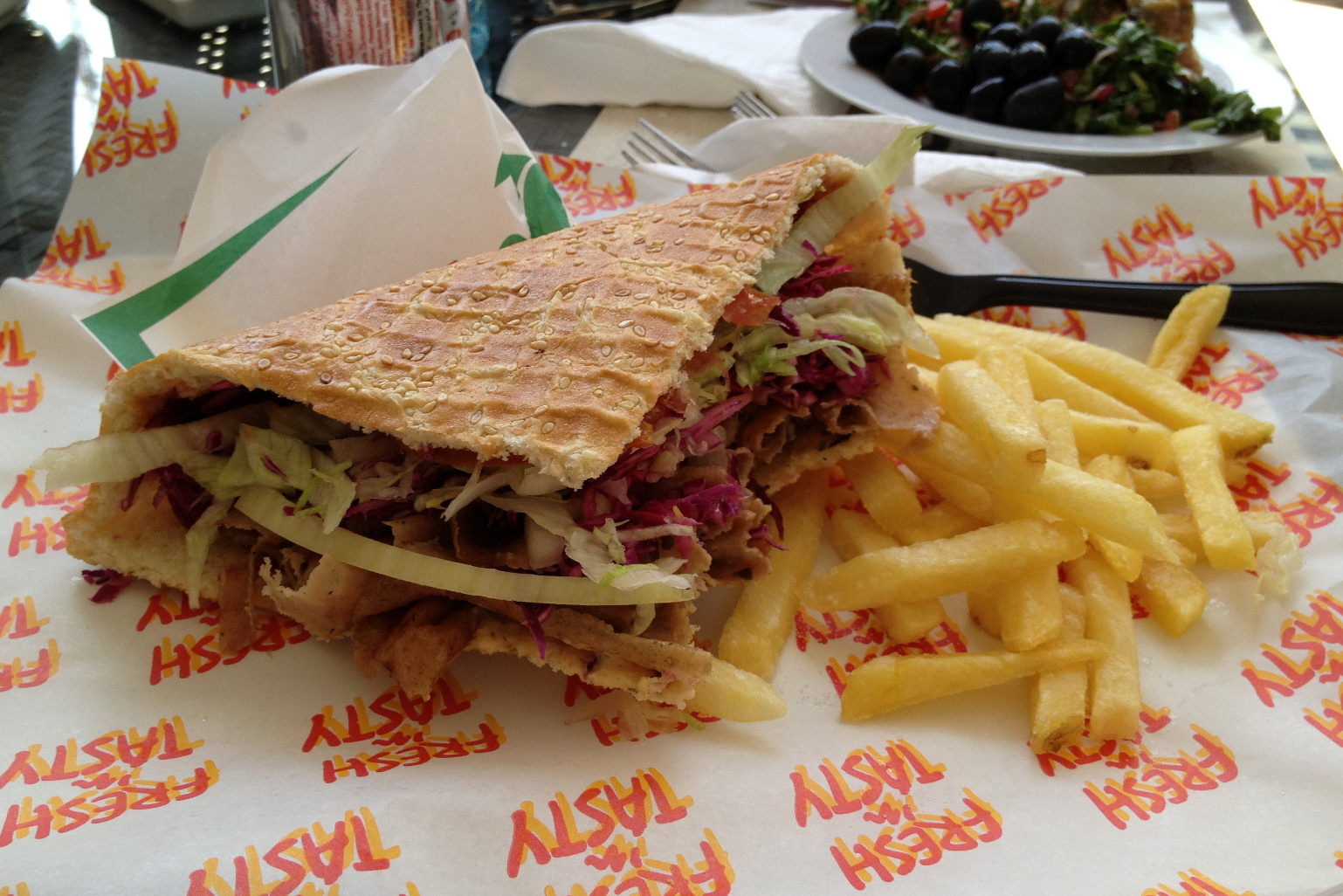 German Döner Kebab - The actual Döner